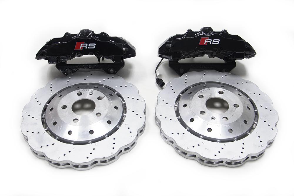 奥迪RS 原装RS5 八活塞 刹车套装