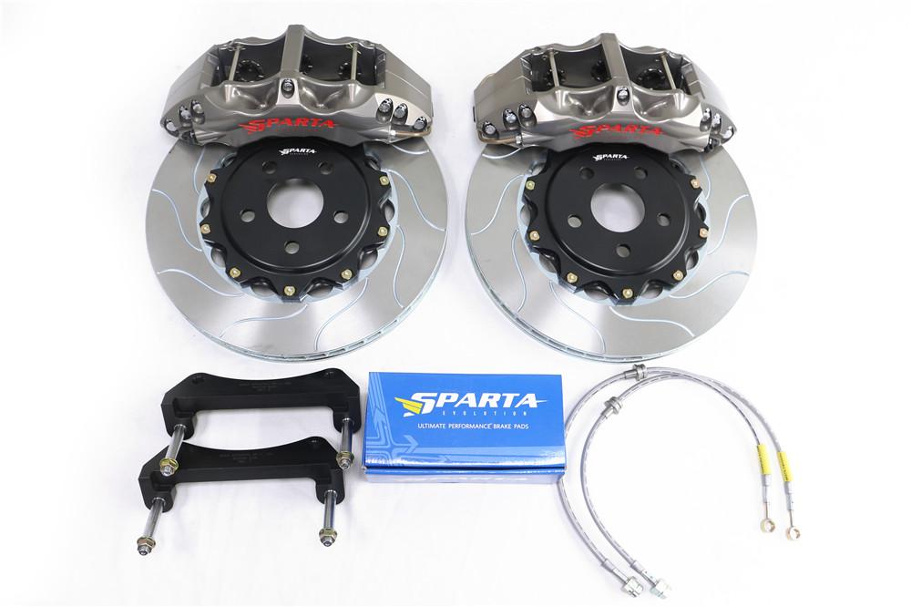 SPARTA EVOLUTION 竞技版 六活塞6P-A 灰色 刹车套装