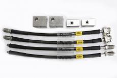 HEL 日产GTR 专用刹车 钢喉油管