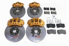 AMG 奔驰SLS前六-402碟 后四-360碟 金色 陶瓷碟
