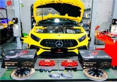 改装案例丨奔驰A45S升级INSPEED TS6六活塞刹车套装